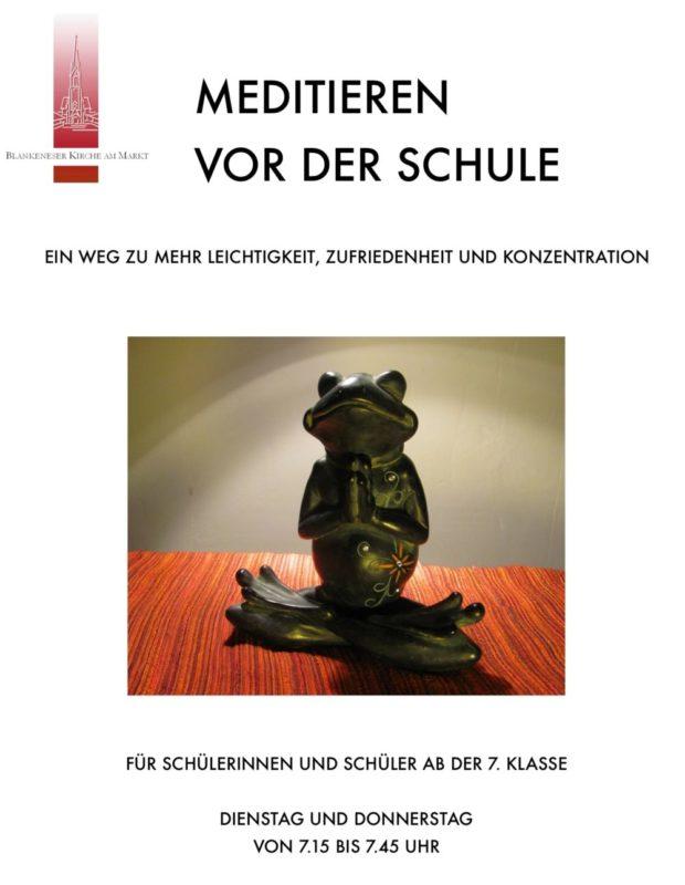 meditation für schueler